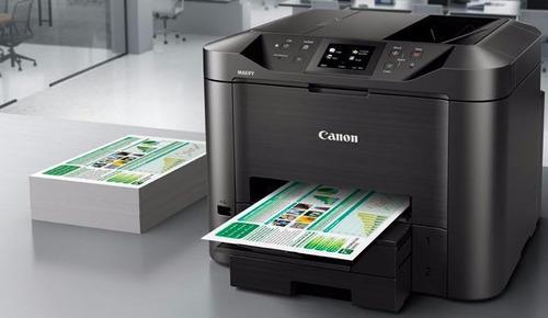imp. multif canon maxify mb5410+sistema continuo de tinta
