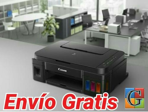 imp multifuncional canon g3100 wifi sistema de recarga