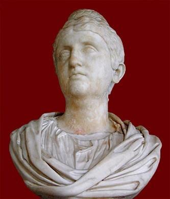 imp. romano, denario - prata - faustina mãe, aeternitas  141