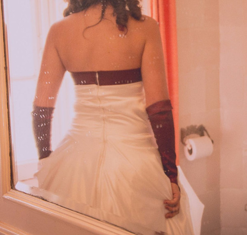 impactante vestido de bodas! 1 solo uso!!!