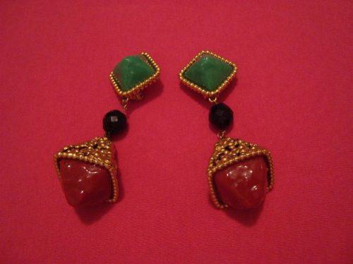 impactantes aros bijoux fina italiana e.gratis-cuotas s/int.
