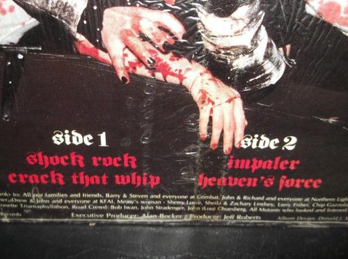 impaler rise of the mutants 1985 ird records lp importado