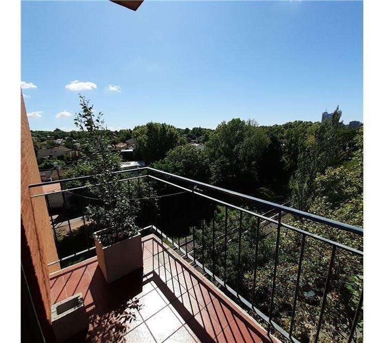 impecable 2 amb. piso alto! vista panoram. balcon