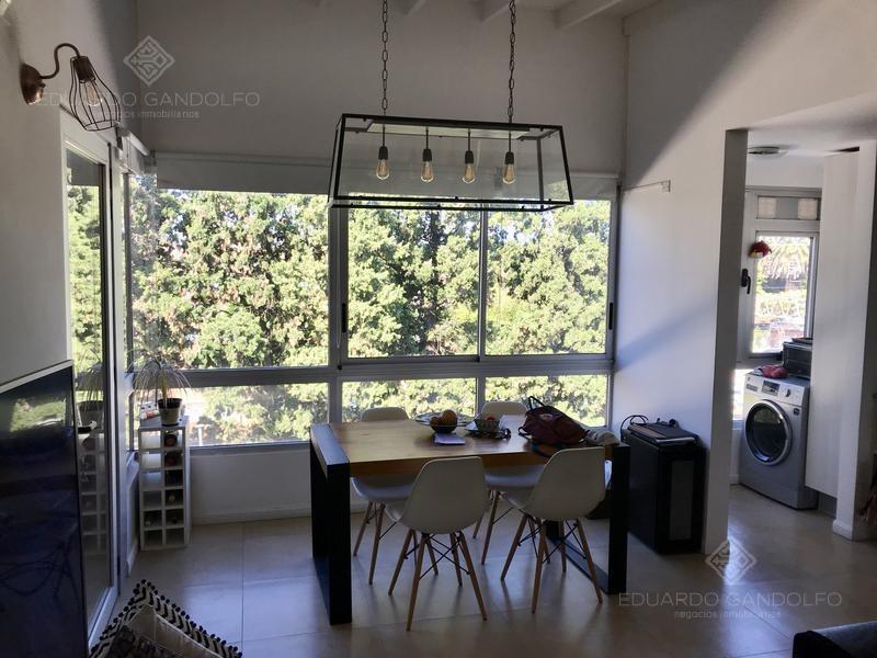impecable 3 ambientes en condominio cerrado