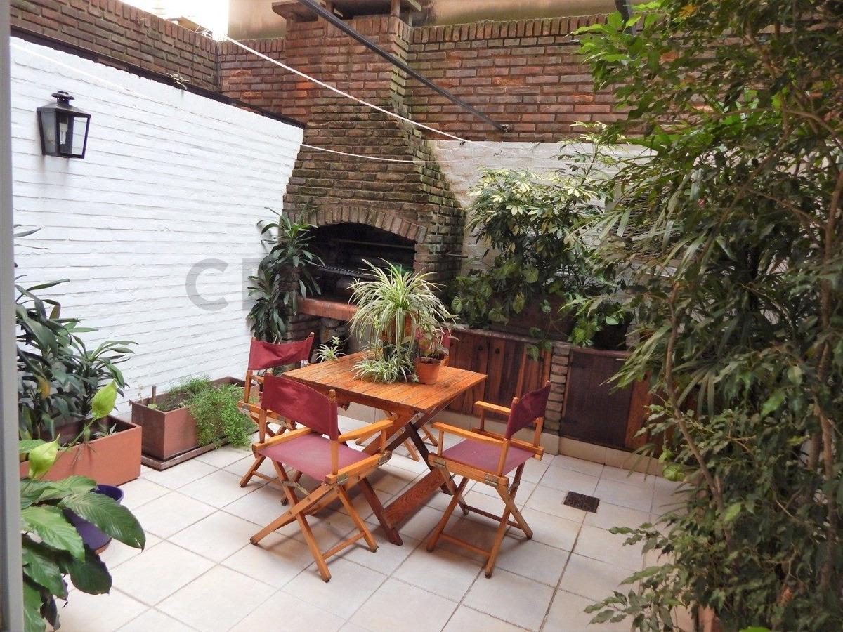 impecable 4 amb con dep, patio-parrilla y cochera