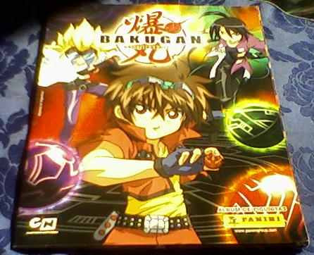 impecable album bakugan completo