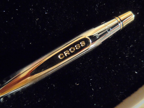 impecable bolígrafo cross - century medalist