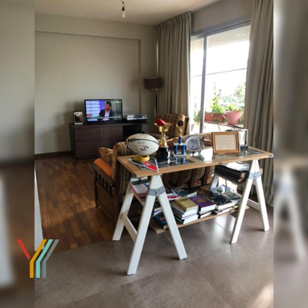 impecable departamento 2 dormitorios al frente en venta