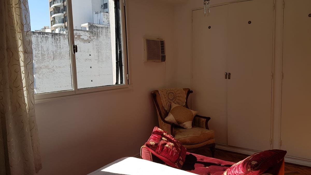 impecable departamento tres ambientes en almagro