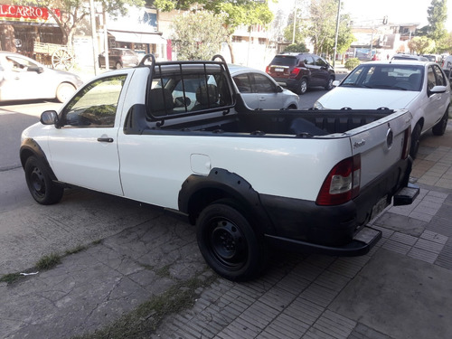 impecable fiat strada working 1.4 nafta año 2013