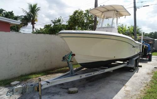 impecable lancha grady-white fisherman 209 center console