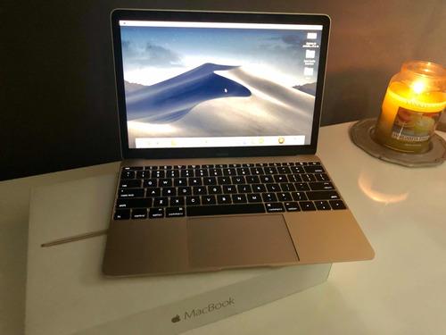 impecable macbook retina dorada 12 pulgadas 2016