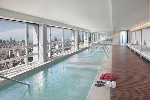 impecable monoambiente piso 12 con cochera - quartier san telmo