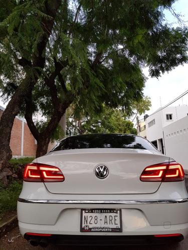 impecable passat cc volkswagen 2016 blanco solo 28,000 kms