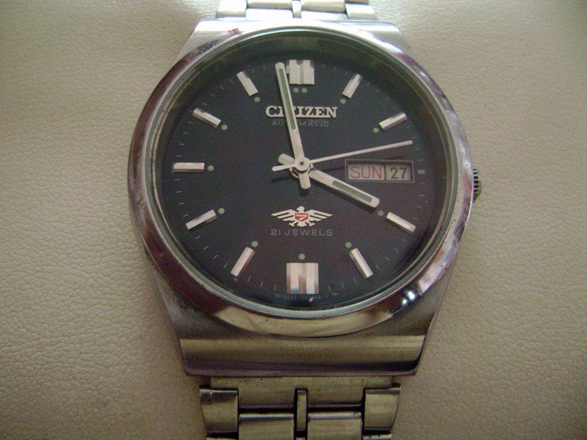 reloj citizen automatico mercadolibre