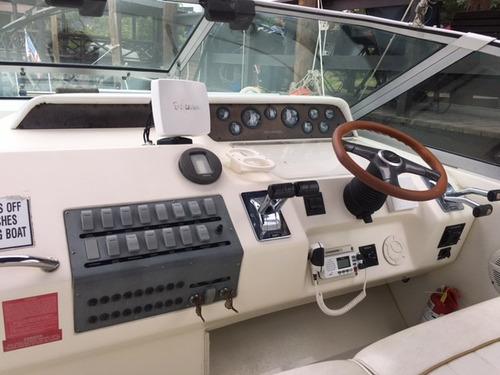 impecable sea ray 30 pies, 2 motores mercruiser,linea de eje