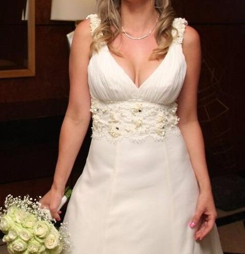 f2326b4bf Impecable!!! Vestido De Novia De Matices - Bordado A Mano -   12.960 ...