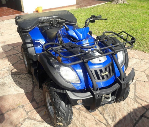 impecable zaniella g-force 250 4x2, con cobertura, s/trailer