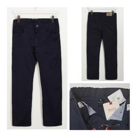 841d50ec4 Impecable!!!pantalon Mimo&co Bebe Azul Gabardina T:3+regalo