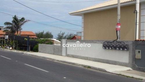 impecável casa duplex residencial à venda, cordeirinho (ponta negra), maricá. - ca2298
