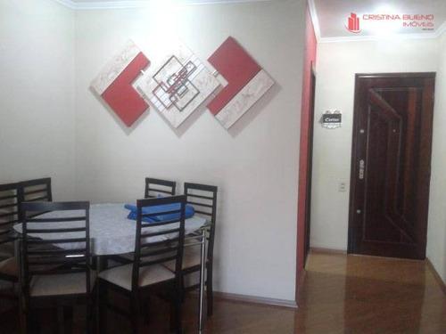 impecável! excelente apt° 2 dormitórios com armários planejados, próximo ao metrô sacomã! - ap2057