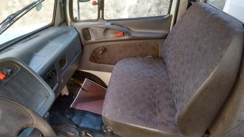 impecável mb 1318 carroceria cabine auxiliar estado okm novo