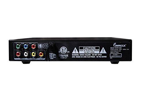 impecca compact dvd player - reproductor de dvd digital con