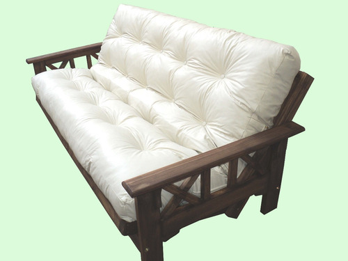 imperdible!!! colchón en ecocuero para futones.