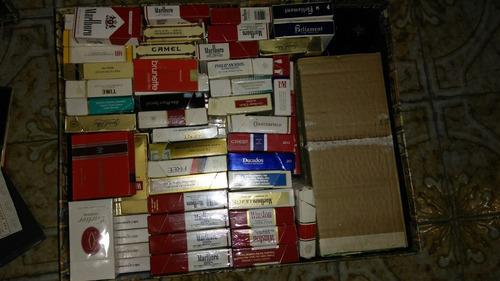imperdible colección de marquillas de los 80-90 nac. e imp.
