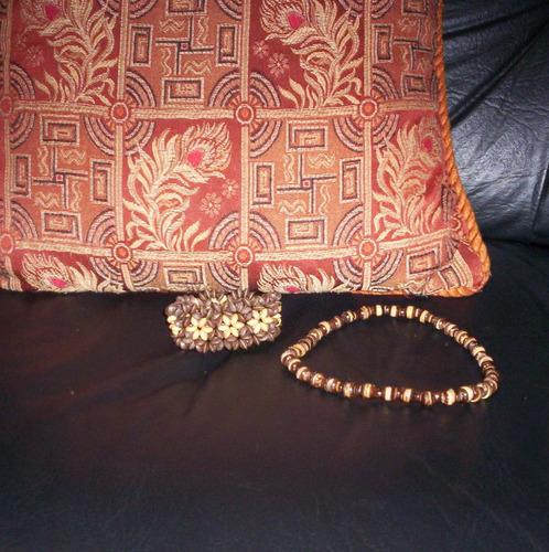 imperdible conjunto de collar y pulsera