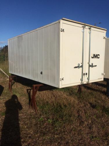 imperdible furgon de chapa para camion - grupo aler