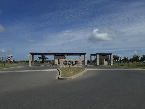 !imperdible lote a la laguna c/vista al golf y orientación!