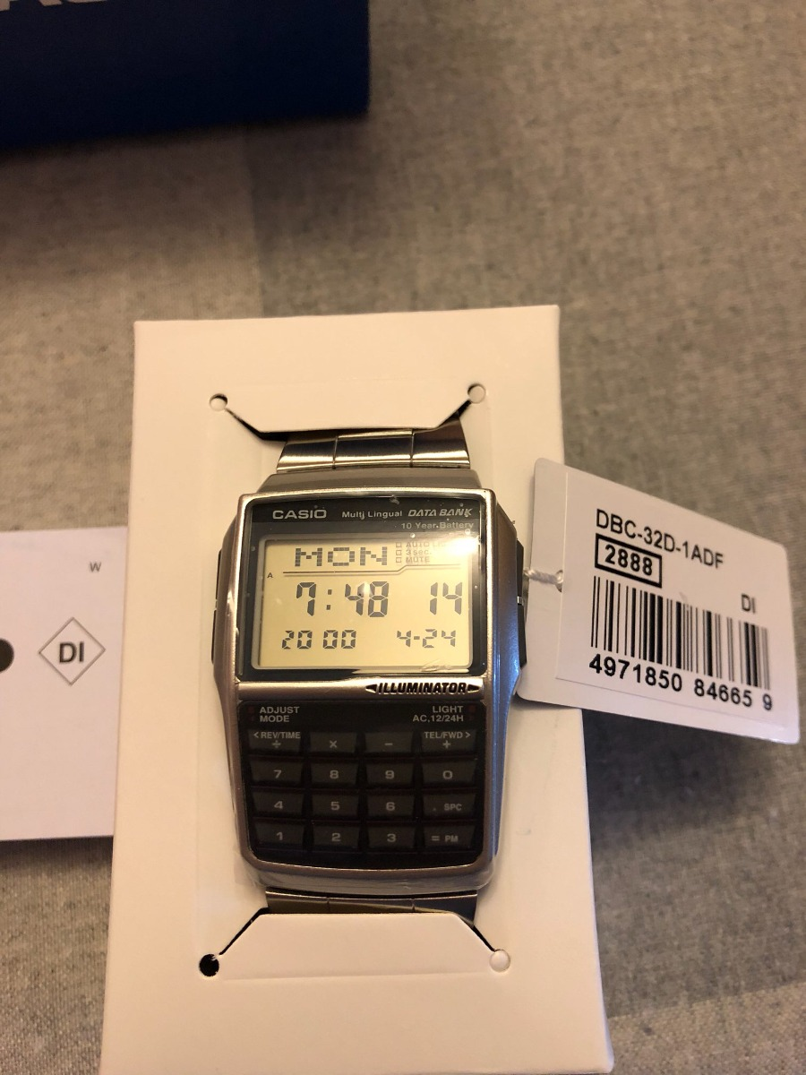 b794b8dd8740 imperdible reloj casio nuevo calculadora retro dbc 32d 1a. Cargando zoom.