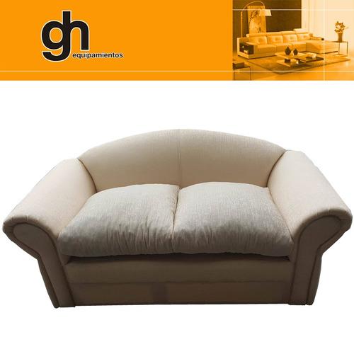 imperdible sofa de 2 cuerpos comodo envio sin costo mdeo gh