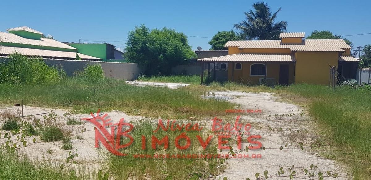 imperdível casa de 2 quartos com terreno de 800 m² próximo pista, unamar, cabo frio. - vcac 215 - 33553642