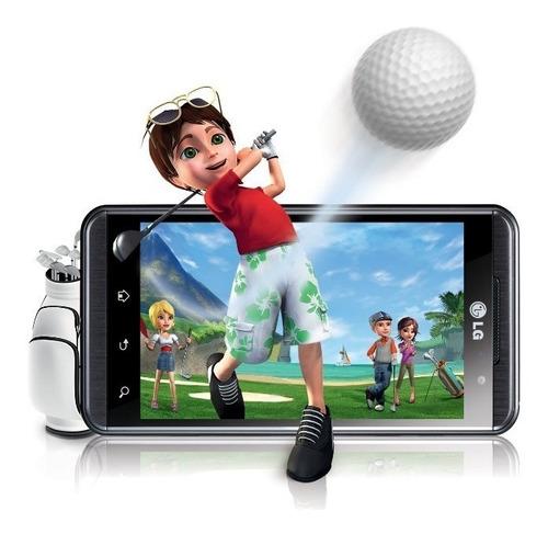 imperdivel! celular lg 3d maxx p725. top de linha e novinho