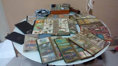 imperdível!! coleção com mais de 2600 cartões + álbuns