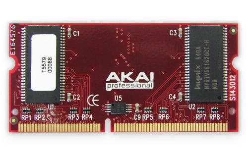 imperdível memória de expansão 128mb exm128 akai