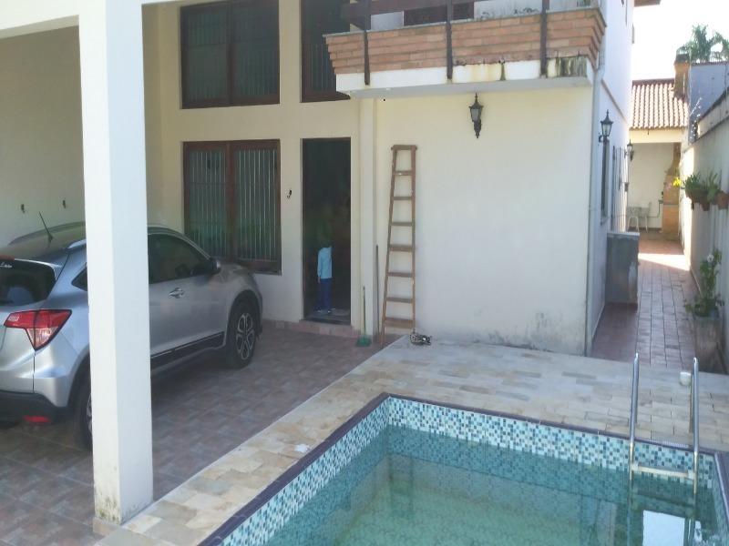 imperdível!!!! sobrado de alto padrão com 4 suítes piscina e edícula a menos de 100m da praia cibratel i. bairro nobre em itanhaém - ca00011 - 34050609