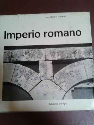 imperio romano. arquitectura universal gilbert picard