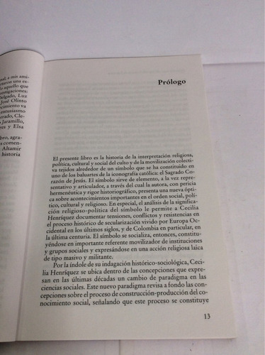 imperio y ocaso del sagrado en colombia, cecilia heríquez