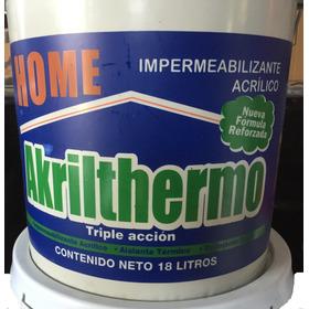 Impermeabil1zante Aislante Térmico 7a + 1/4kg Sellagrieta Ml