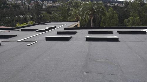 impermeabilización chova losas / paredes / pisos / eternit