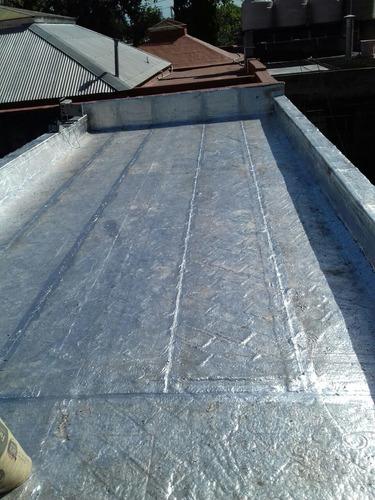 impermeabilización c/membrana asf/geo/pintura acril/poliuret