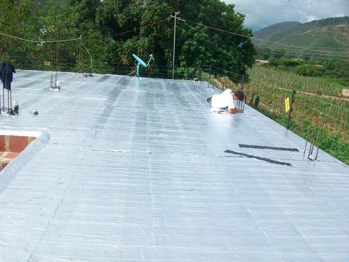 impermeabilización con manto aluminizado autoadhesivo. venta