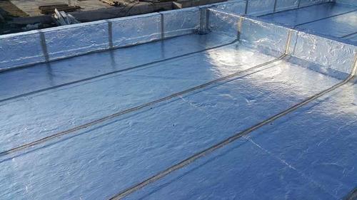 impermeabilización de azotea colocación  membrana asfaltica
