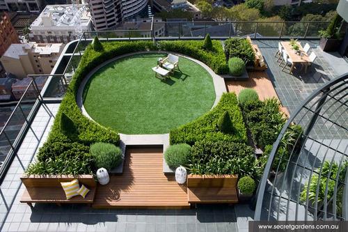 impermeabilizacion de jardines y jardineras - techos verdes