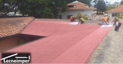 impermeabilizacion de techo, jardineras, tanques de aguas
