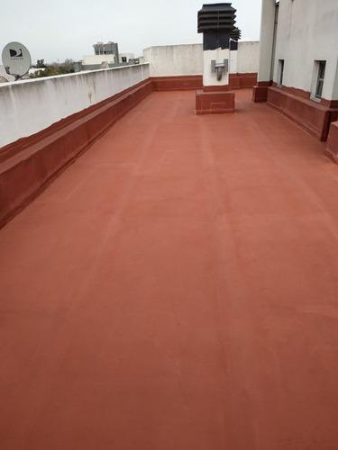 impermeabilización de techos. membrana en pasta