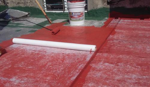 impermeabilizacion de techos y terrazas-membrana en pasta